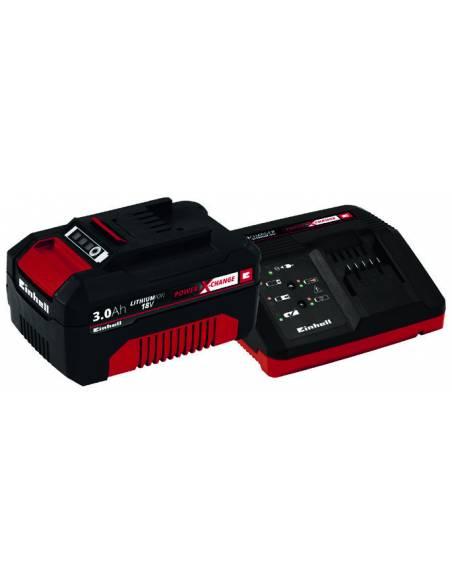 Kit Starter Power X Change 18V 3Ah Einhell Bûcheronnage, élagage et taille