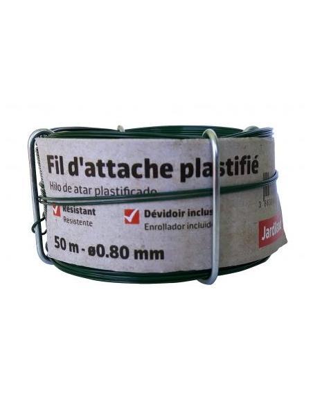 Fil d'Attache Plastifié 50M Jardiland Tuteurage et autres accessoires