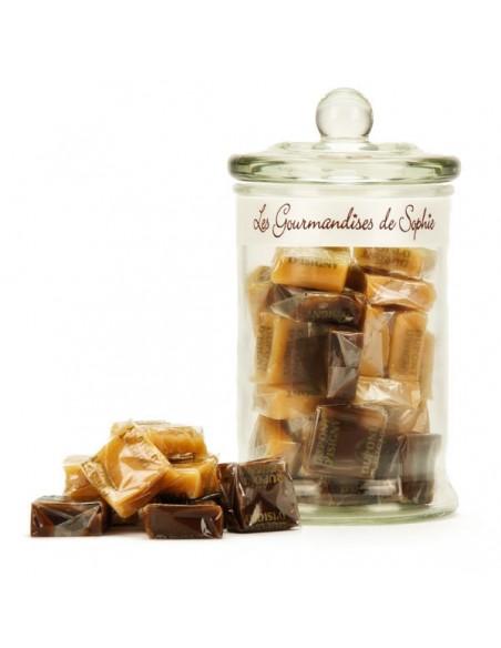 Bonbonnière de caramels assortis Les gourmandises de Sophie Epicerie sucrée (et salée à venir !)