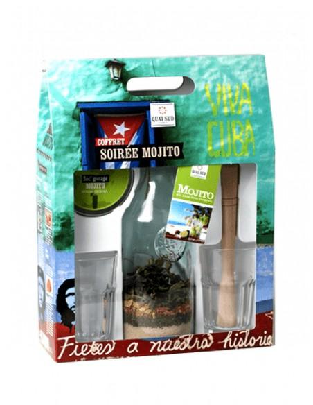 """Coffret """"Soirée Mojito"""" Quai Sud Épicerie sucrée et salée"""